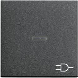 GIRA schakelwip controlevenster symbool wandcontactdoos Systeem 55 antraciet mat (020928)