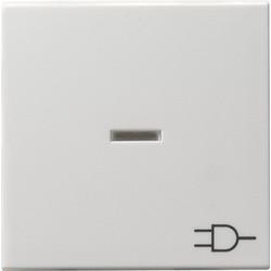 GIRA schakelwip controlevenster symbool wandcontactdoos Systeem 55 wit glans (020903)