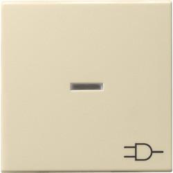 GIRA schakelwip controlevenster symbool wandcontactdoos Systeem 55 creme glans (020901)