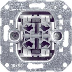 GIRA drukcontact maakcontact 4-voudig (014700)