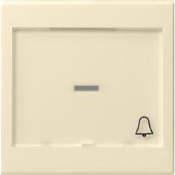 GIRA schakelwip controlevenster groot tekstkader symbool bel Systeem 55 creme glans (067901)