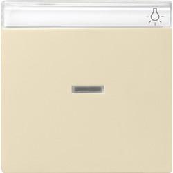 GIRA schakelwip controlevenster tekstkader Systeem 55 creme glans (067001)