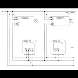 GIRA DALI potentiometer (201800)