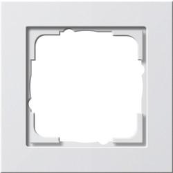 GIRA afdekraam 1-voudig E2 wit mat (021122)