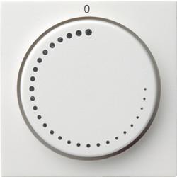 GIRA draaiknop toerentalregelaar Systeem 55 wit glans (065203)