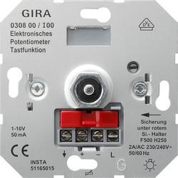 GIRA potentiometer met drukcontact 1-10 Volt (030800)