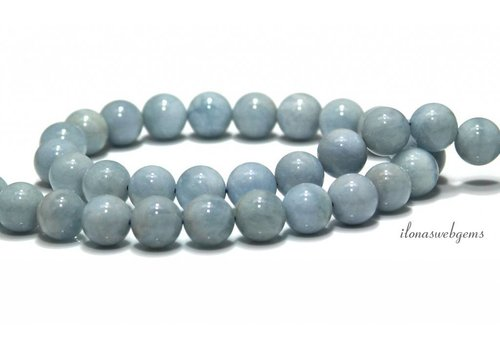 Aquamarine beads around approx. 10mm AA quality