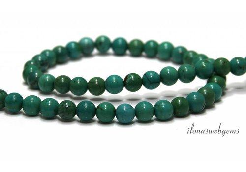 Turquoise beads around ca. 8mm