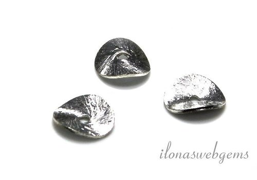 Sterling silver chips 10.5mm