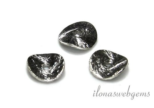 Sterling silver chips 8mm