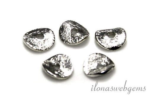 1 Sterling zilveren chips 6mm