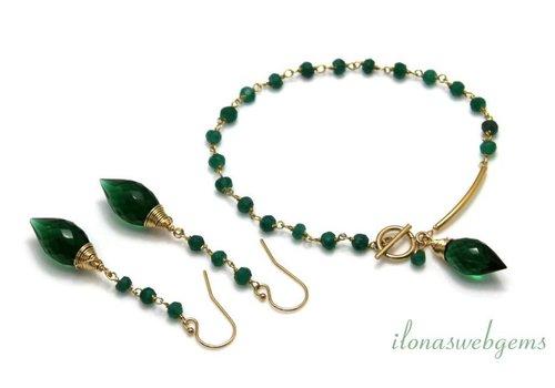Inspiration: Kette mit Smaragd