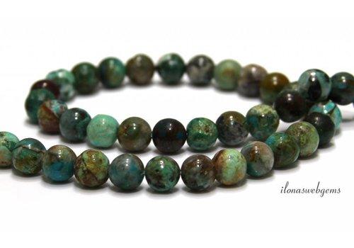 Chrysocolla beads 8mm