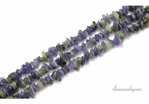 Tanzanite beads split approx. 8m