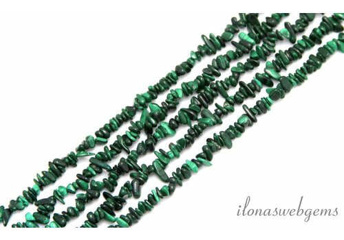 Malachite beads split app. 5mm