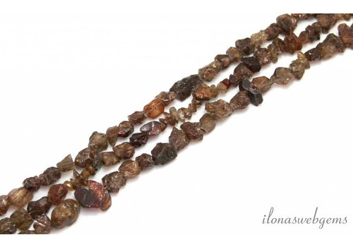 Zircon beads 'rough' around 11mm