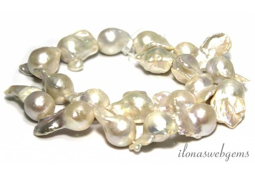 Baroque pearls approx. 13-25mm