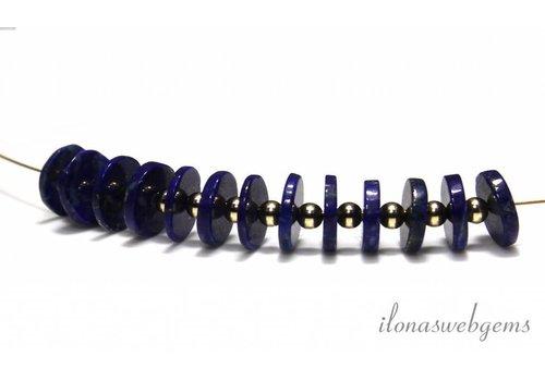 Lapis lazuli discs