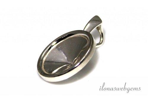 Sterling silver pendant for Swarovski Rivoli 1122