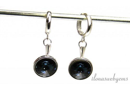 Inspiration oohangers with 12mm Swarovski Rivoli tip stone