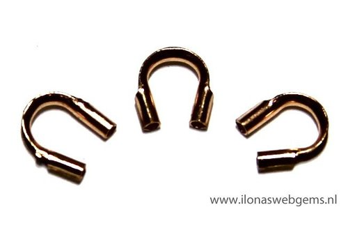 Rosé Goldfilled wire protector / wire guide approx. 5mm MEDIUM