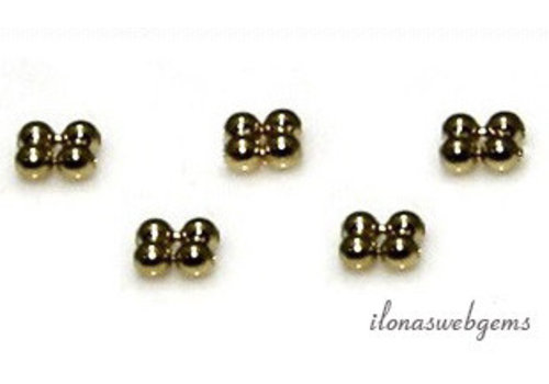14 Karat Gold Spacer 2x1mm