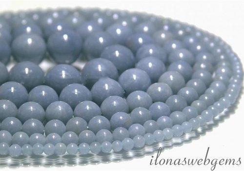 Angelit   Perlen (Angelstone) ca. 10mm AA Qualität