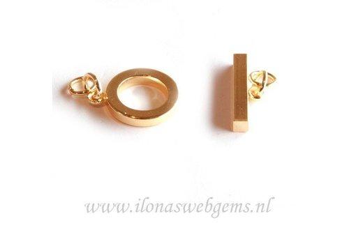 3 stuks kapittelslot `gold`