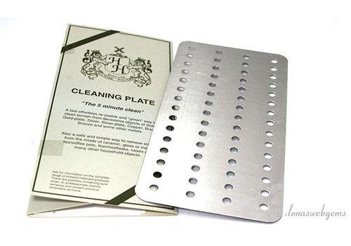 Platte reinigen
