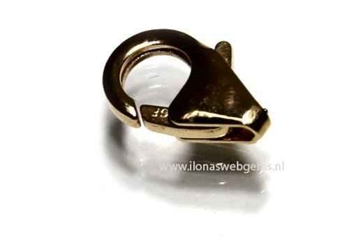 14k / 20 gold filled lobster lock approx 11mm