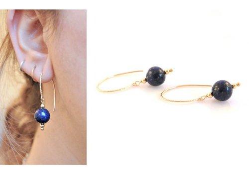 Inspiratie: Lapis Lazuli oorbellen