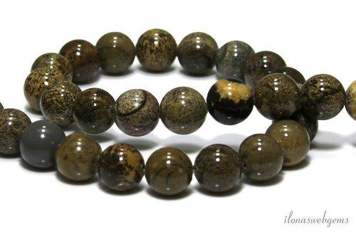 Artic Jasper beads around 8mm - Copy