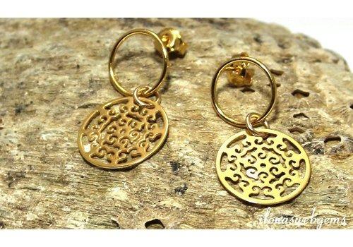 Inspiration Vermeil stud earrings