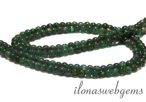 Green apatite beads round app. 4.5mm