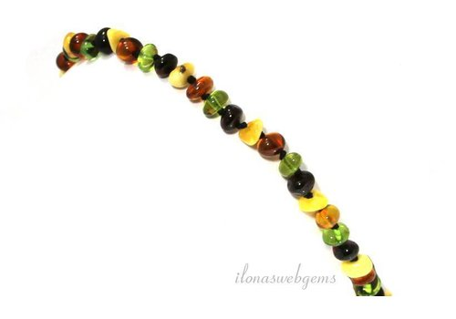 Amber baby necklace approx. 6mm