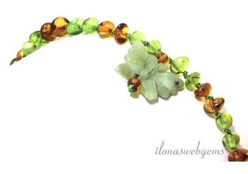 Amber baby necklace approx. 5.5mm