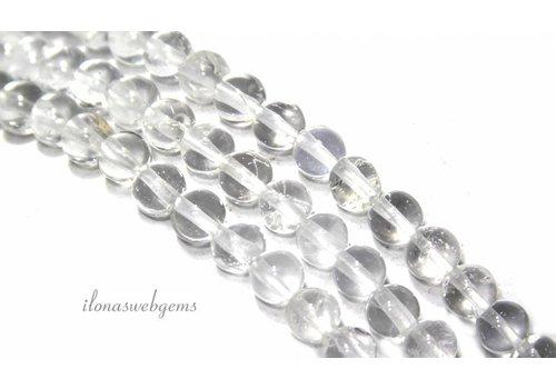 Bergkristal kralen rond A kwaliteit ca. 4mm