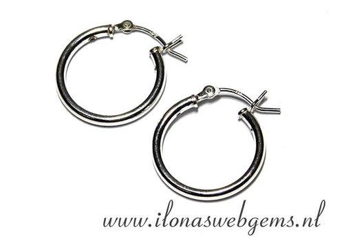 1 pair of Sterling silver earrings - Copy