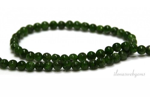 1cm Diopside beads around 4.5mm