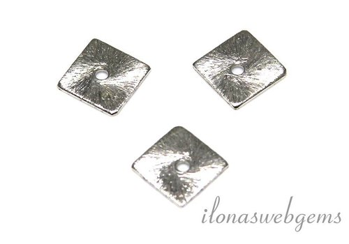 1 piece of silver-plated chips approx. 8mm
