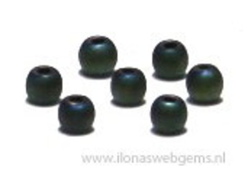 app. 200 pieces mini hematite beads / spacer app. 2.2mm