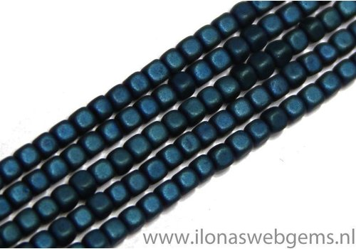 app. 195 pieces mini hematite beads / spacer app. 2mm