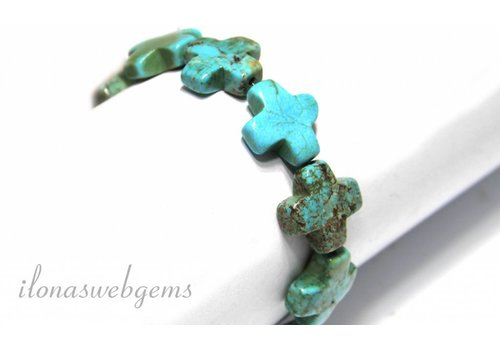 10 pieces Howlite beads
