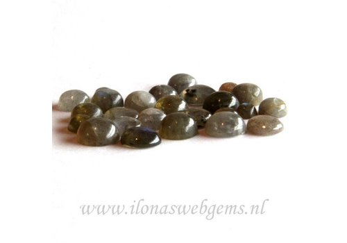 Labradorite cabochon mix 5 pcs SMALL