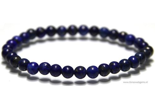 Lapis Lazuli kralen armband ca. 6mm