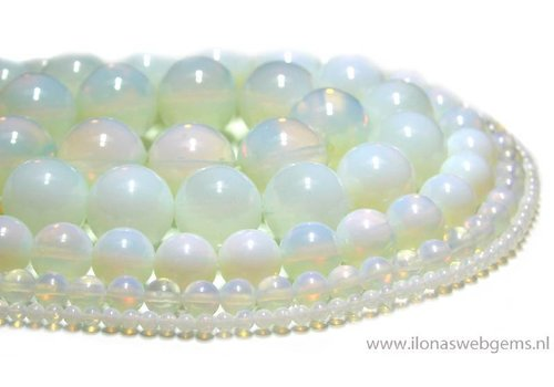 Opalite beads approx 14mm