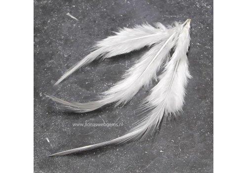 Hahnenfedern ca. 10 stücke ca. 5t/m 10cm