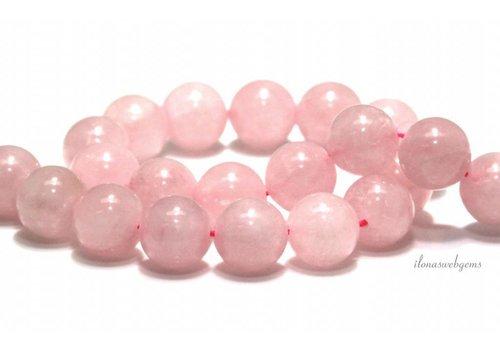 Rose quartz beads around 16mm