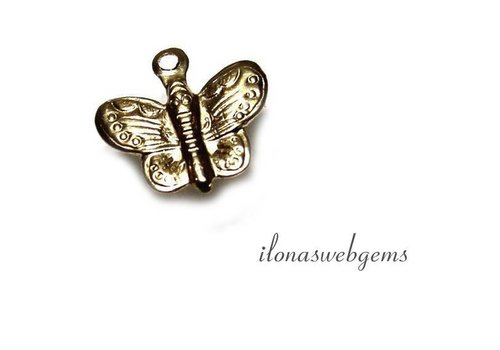 Gold filled Charm Butterfly app. 11x10mm