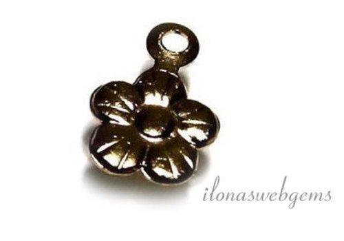 14k / 20 Gold filled flower charm